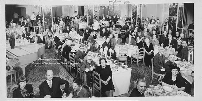 Marshall Chess Club Dinner in Honor of Larry Evans and James T. Sherwin held at the Fifth Avenue Hotel, New York, New York