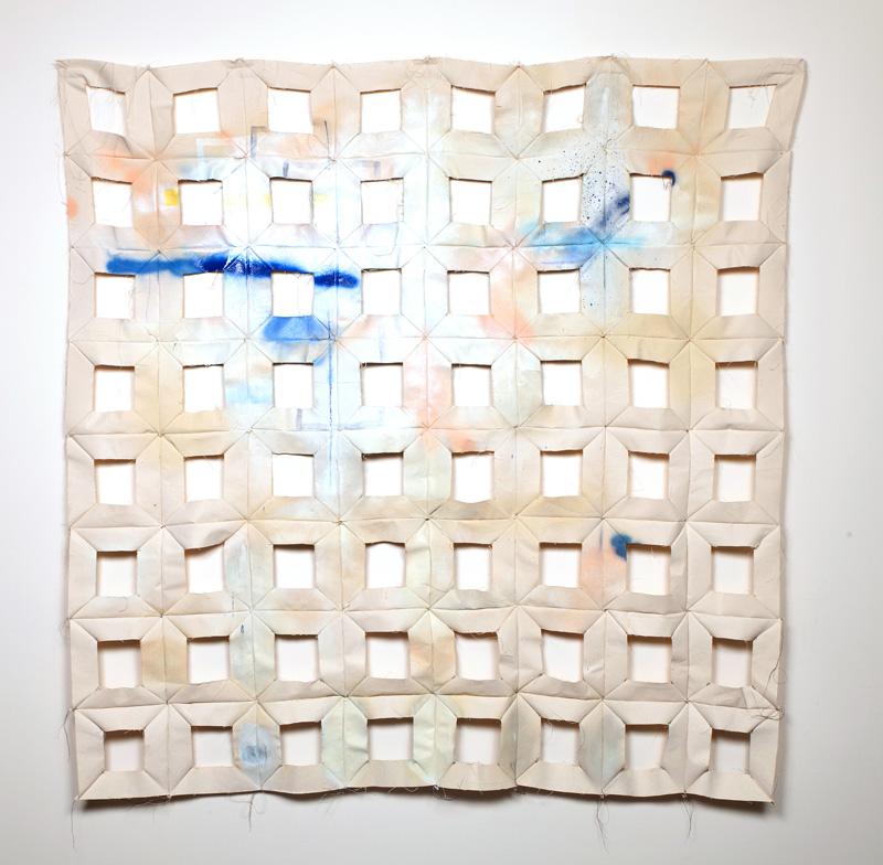 Kristin Fleischmann Brewer, 64 Squares, 2017