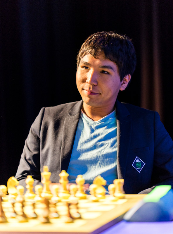 Wesley So Competes during Rapid Day One of the 2016 Paris Grand Chess Tour