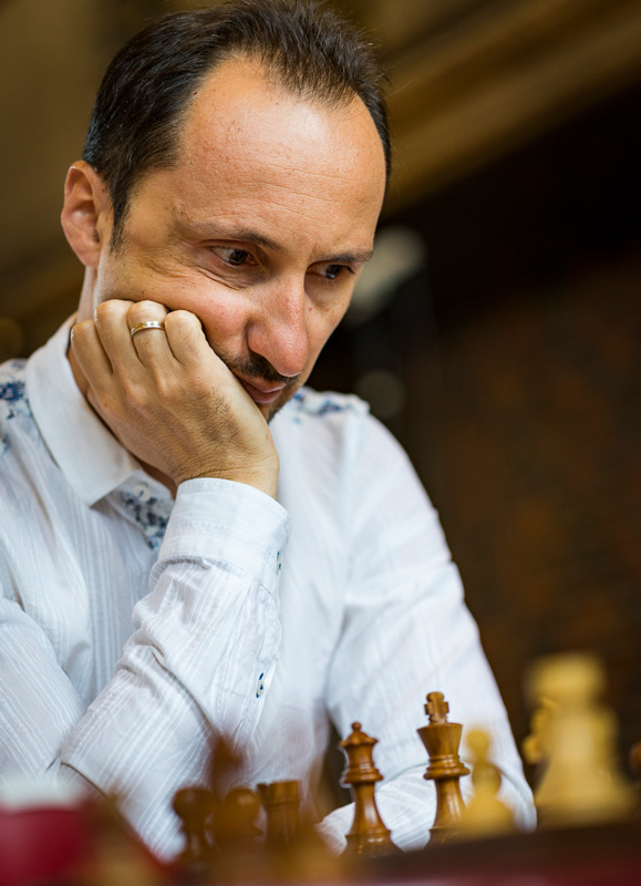 Veselin Topalov Competes during Blitz Day Two of the 2016 Your Next Move Grand Chess Tour