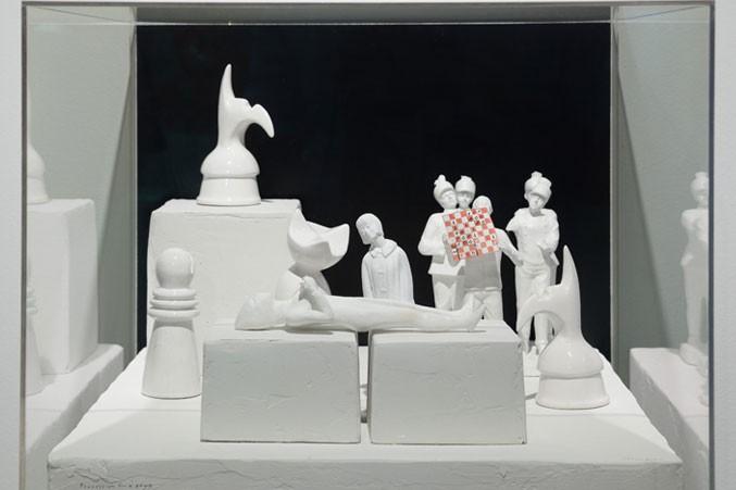Marcel Dzama, Procession for a Pawn
