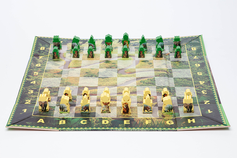 Congo Basin Chess Set, 2012