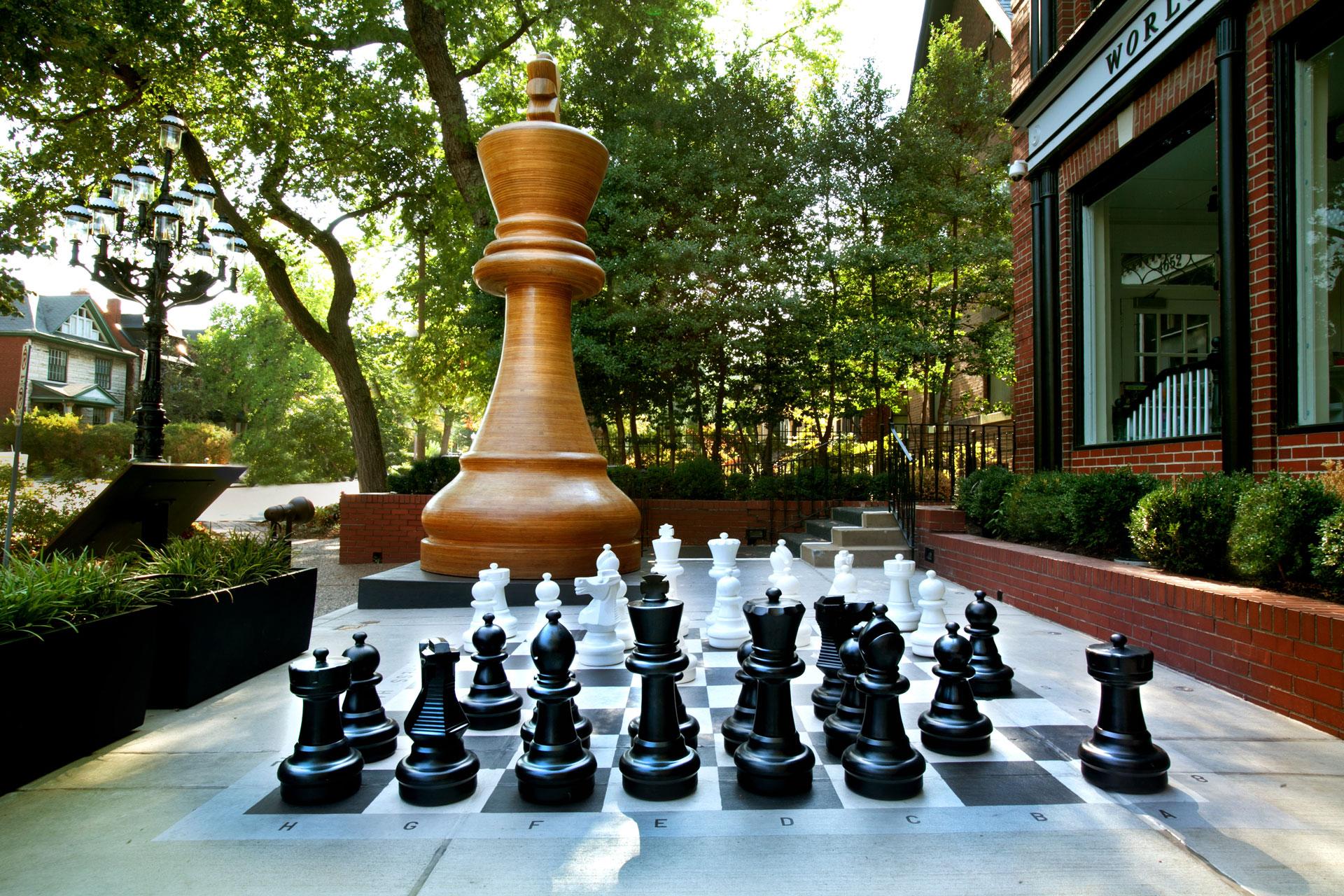 World's Largest Chess Piece, 2012