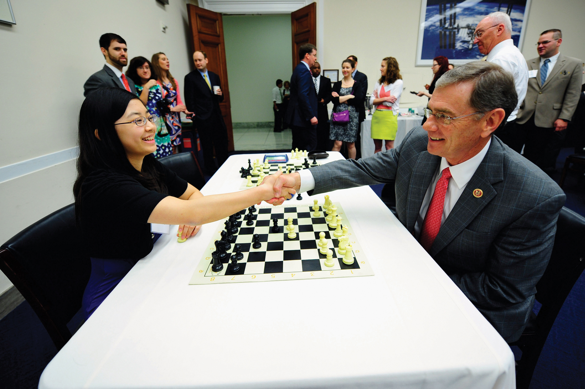 Congressional Chess Match, 2013