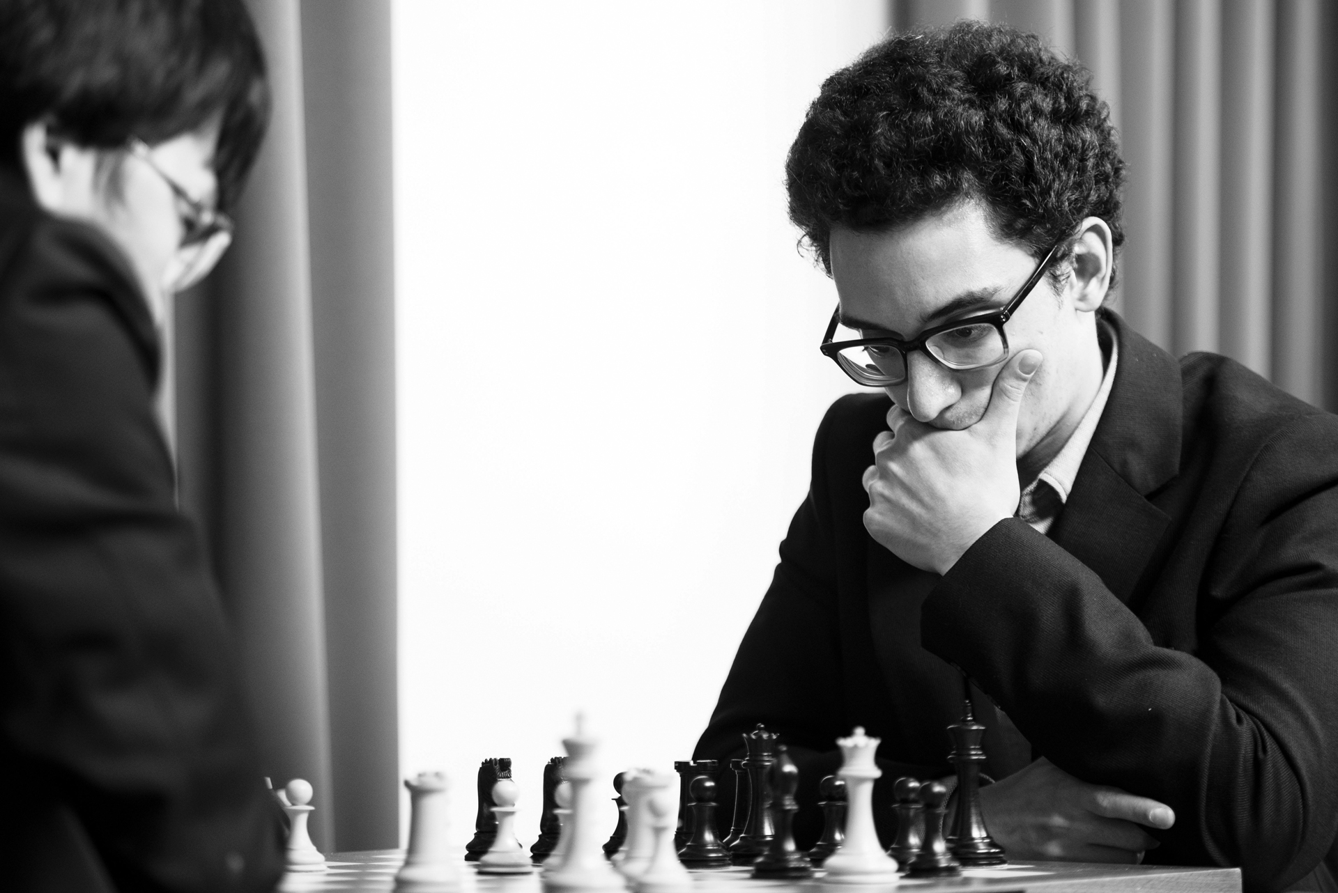 GM Fabiano Caruana at the Saint Louis Rapid & Blitz tournament