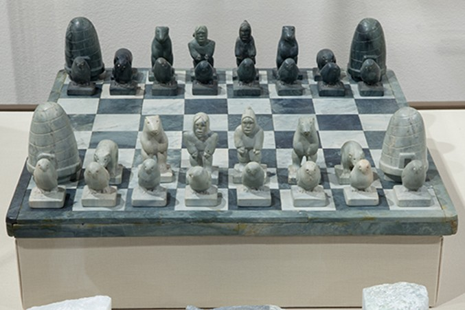 Inuit Chess Set, C. 1966