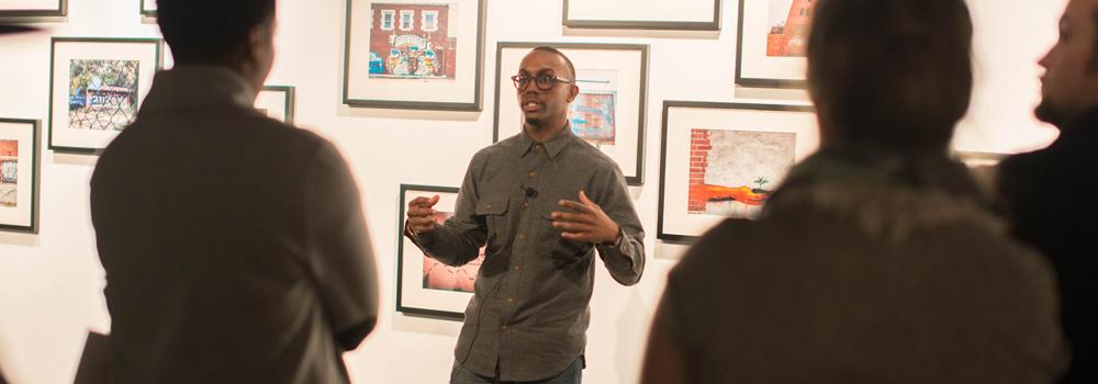 Adrian O. Walker Artist Talk