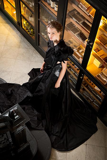 Agnes Hamerlik, Floor Length Asymmetrical Gown, 2017