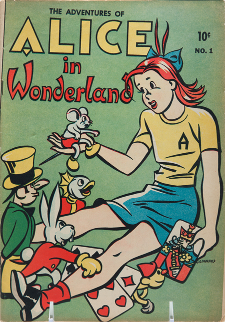 The Adventures of Alice in Wonderland, No. 1