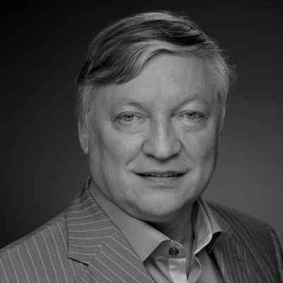 Anatoly Karpov, 12th World Chess Champion. Photo: World Chess Hall of Fame.
