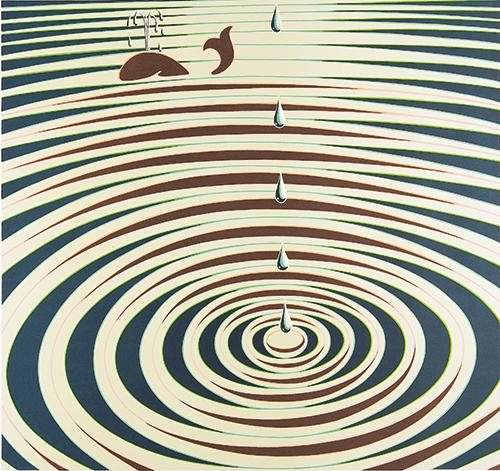 Anneaux-Etude de Mouvement (portfolio Origines?), 1986, created in 1939