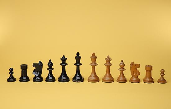 Pinney Club Size Chess Set
