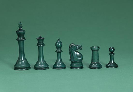 Staunton Ivory Set by Asprey, 1960