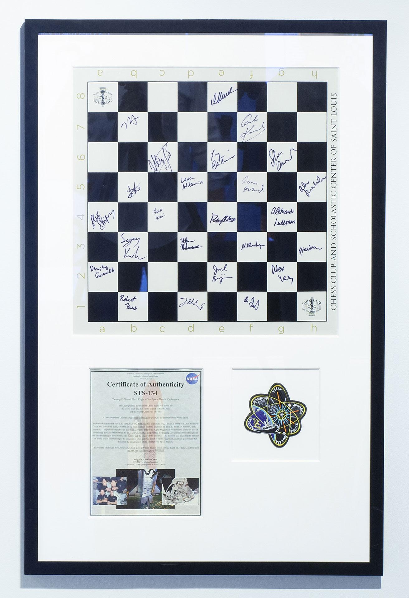 Endeavor Space Shuttle Chessboard, 2011