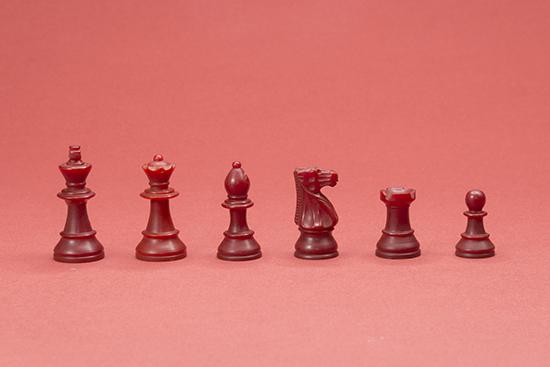 Arthur Bisguier's Chess Set