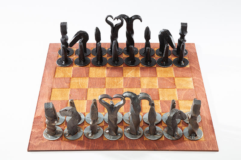 Hand Forged Chess Set, 2018