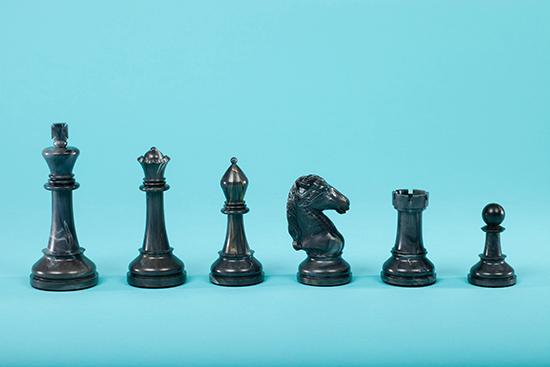 Cavalier Chess Set, 1967