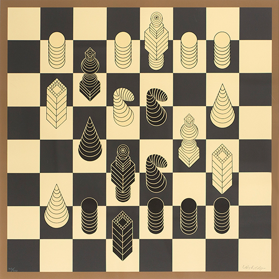 Chess, edition 160/300, Date unknown