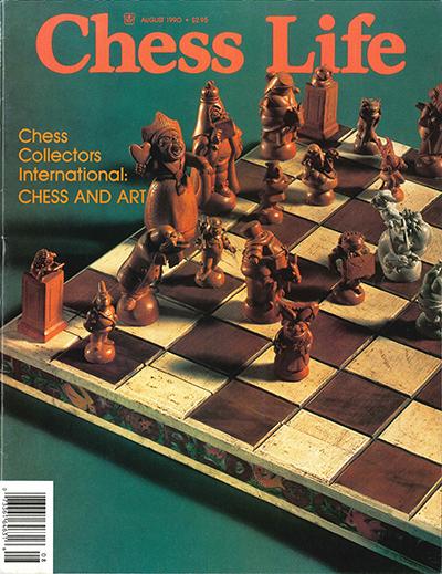 Chess Life, Vol. 45, No. 8