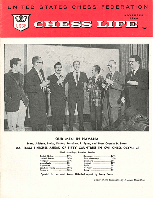 Chess Life Vol. 21 No. 11
