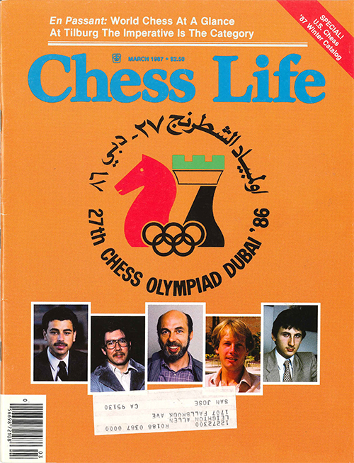 Chess Life Vol. 42, No. 3
