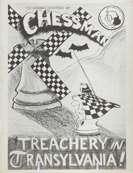 The Incredible Adventures of Chessman: Treachery in Transylvania!, Vol. 1, No. 2