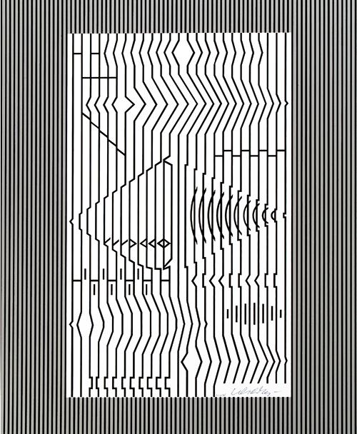 Cithare (Photographisme), edition F.V. 62/75, 1982