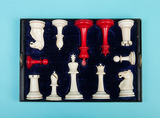 Edwards & Jones Ivory Set, 1875