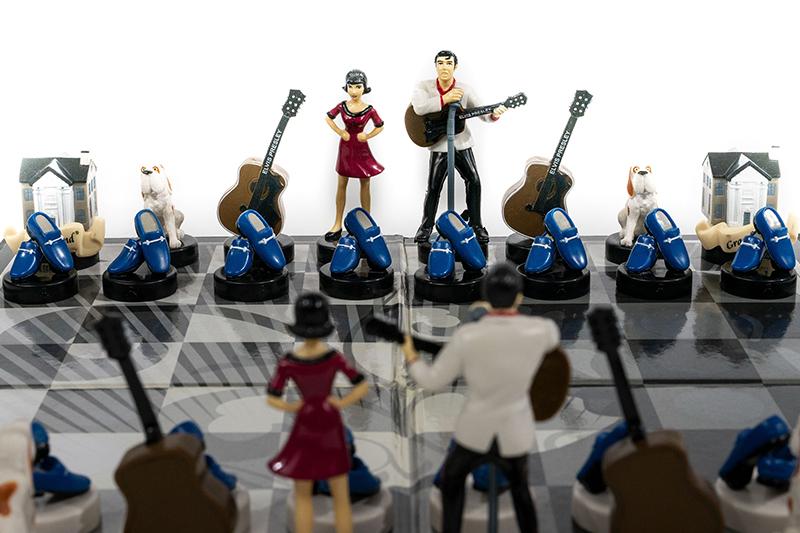 Elvis Presley Chess Set, 2007