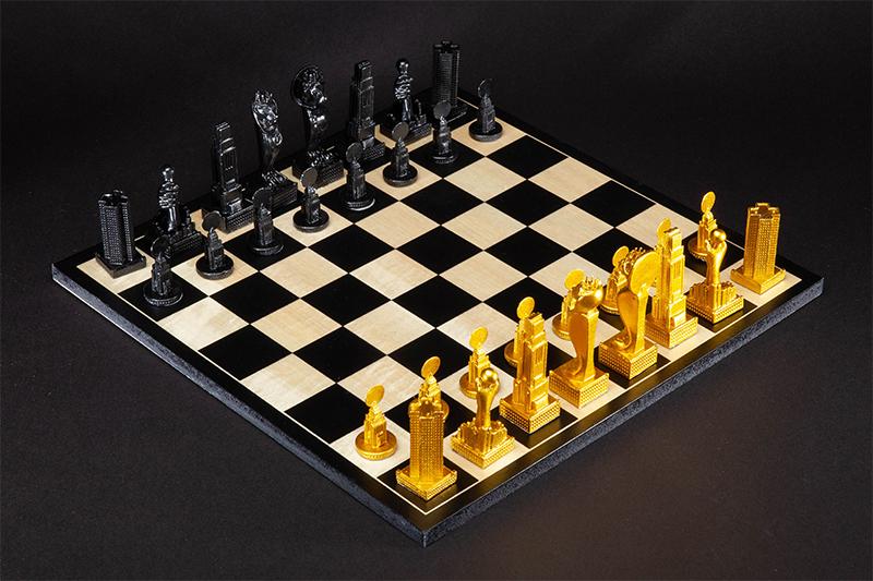 Empire Chess Set, 2018