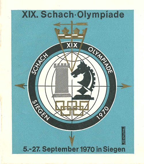 Envelope from the 1970 Olympiad
