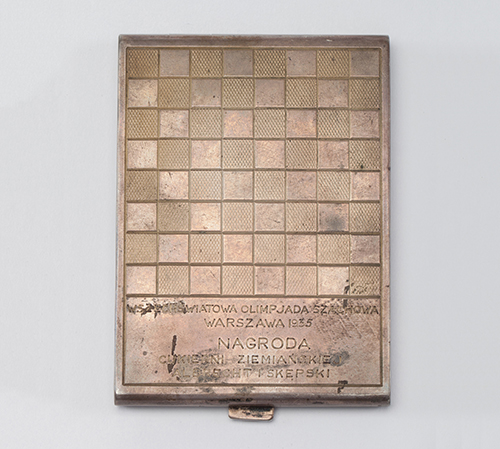 GM Frank Marshall's Cigarette Case from the 1935 Olympiad