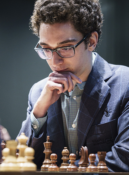 Fabiano Caruana, Winner of the 2017 London Chess Classic