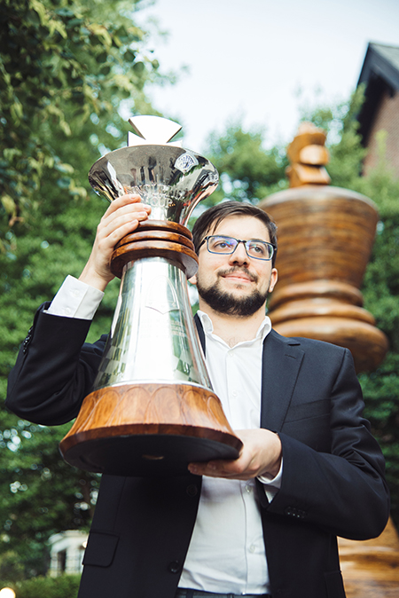 Maxime Vachier-Lagrave, Winner of the the 2017 Sinquefield Cup