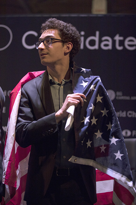Fabiano Caruana after Winning the 2018 Candidates Tournament