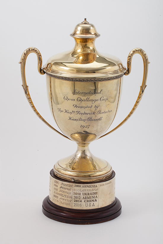 Hamilton-Russell Cup, 1927