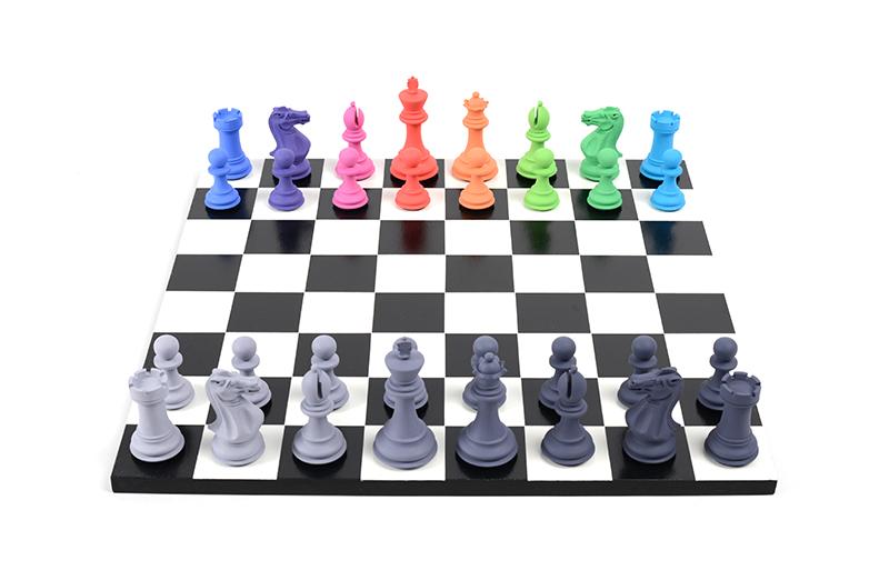 Tom Hackney, Retinal Chess Set, 2018