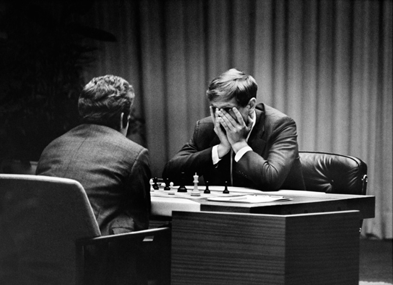 Harry Benson, Fischer vs. Spassky, Game One, Iceland