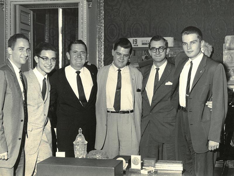 1960 Gold Medal Winning Student Team, Leningrad, USSR