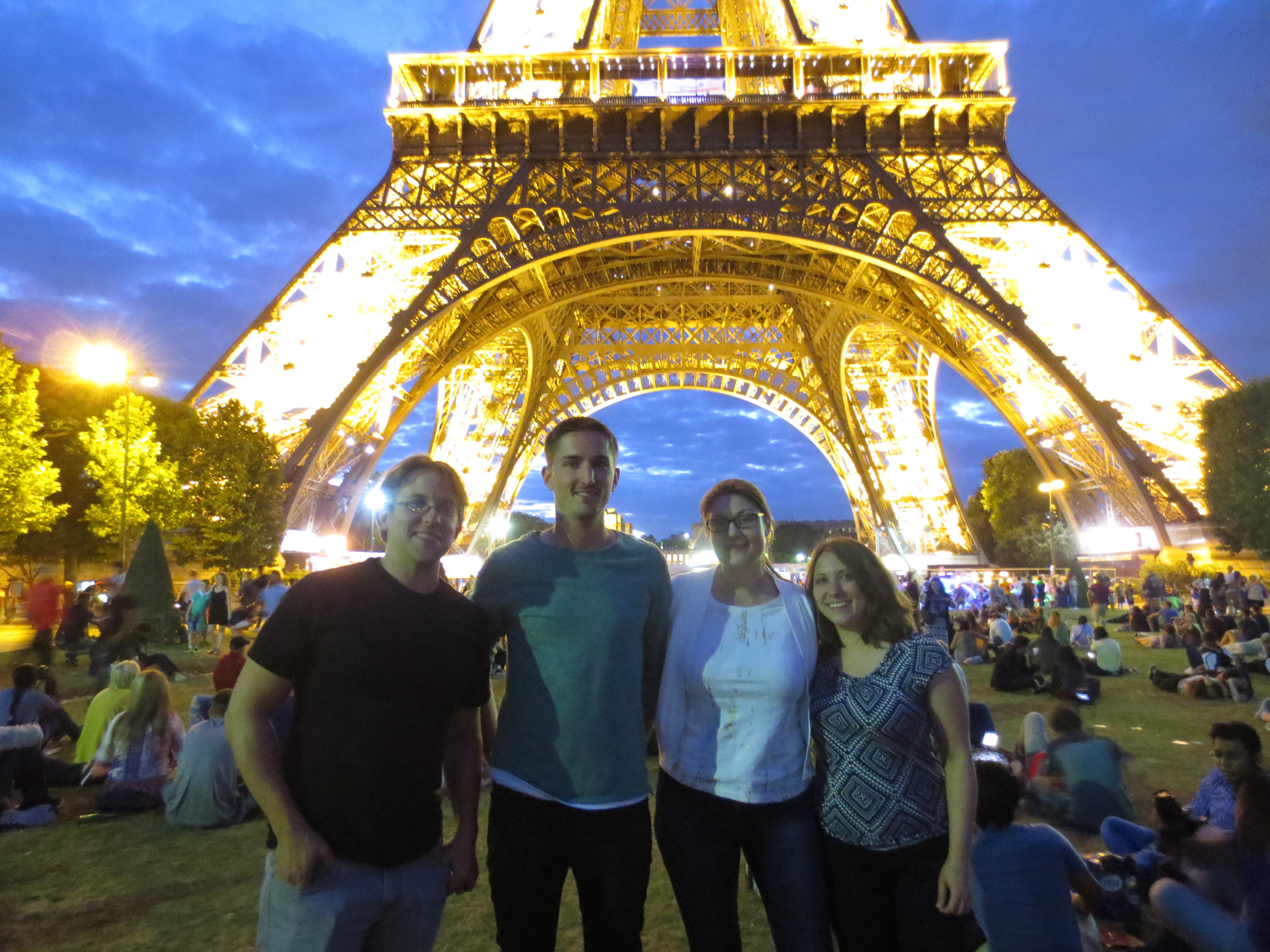 The Exhibitions Team in Paris