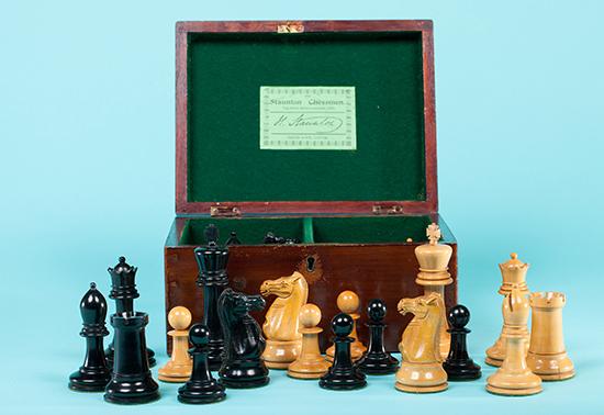 Jaques Reintroduction Chess Set, 2000