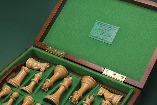 Jaques Chess Set, 1895