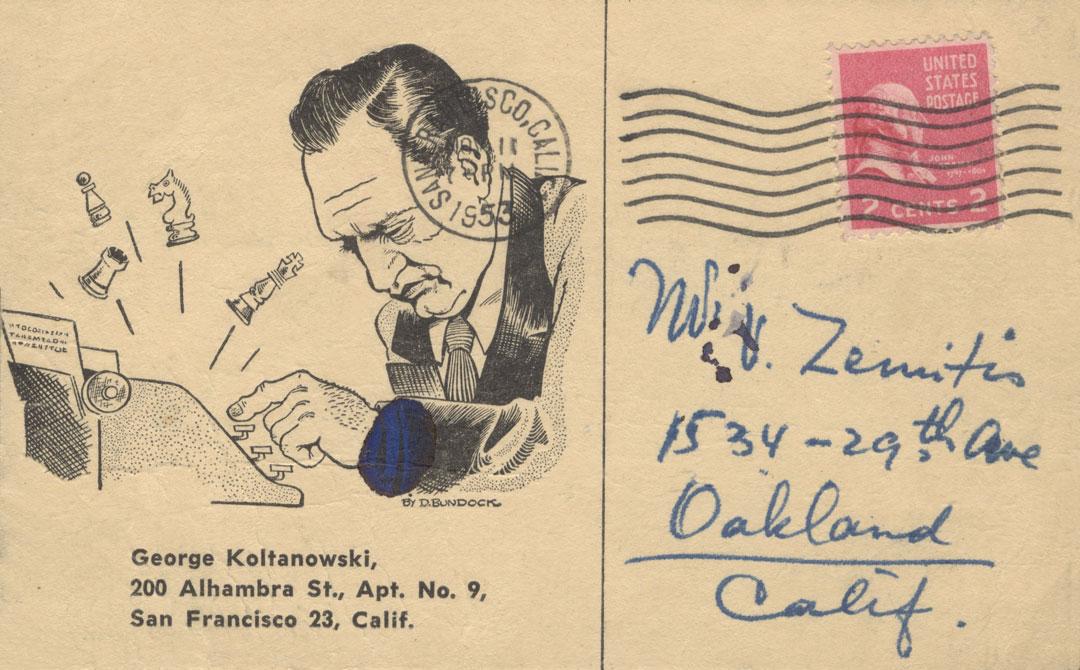 Koltanowski postcard