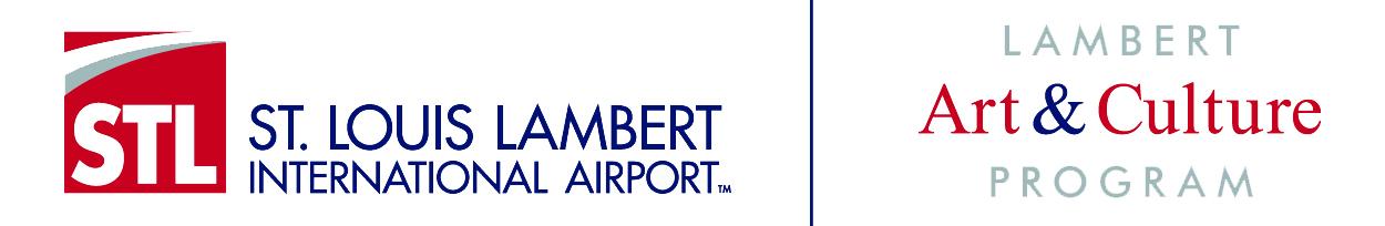 Lambert Airport Art & Culture Logo