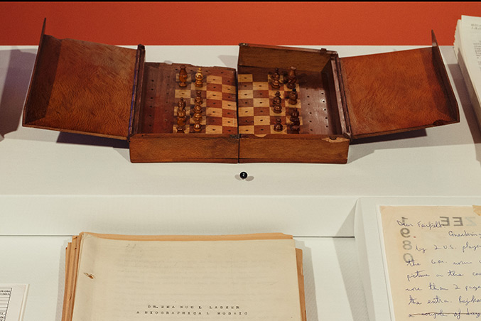 Emanuel Lasker's Portable Chess Set, Date unknown