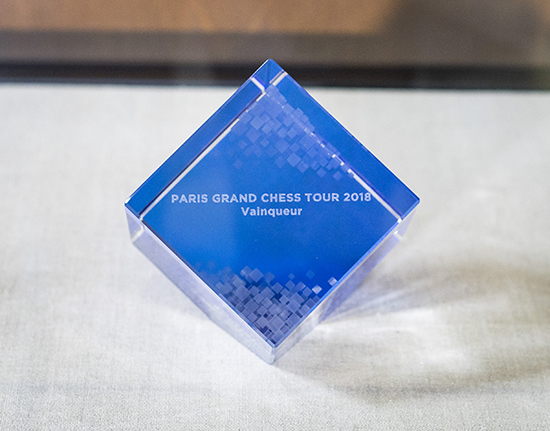 Art Tempo, Paris Grand Chess Tour Trophy, 2018