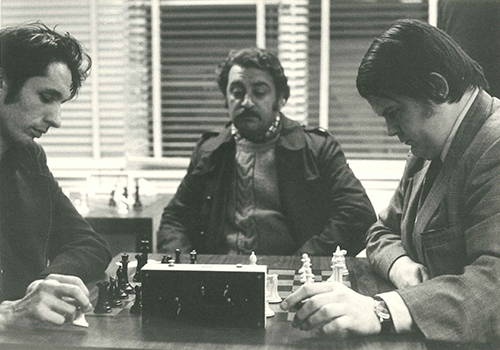 William Lombardy Playing Blitz, Date unknown