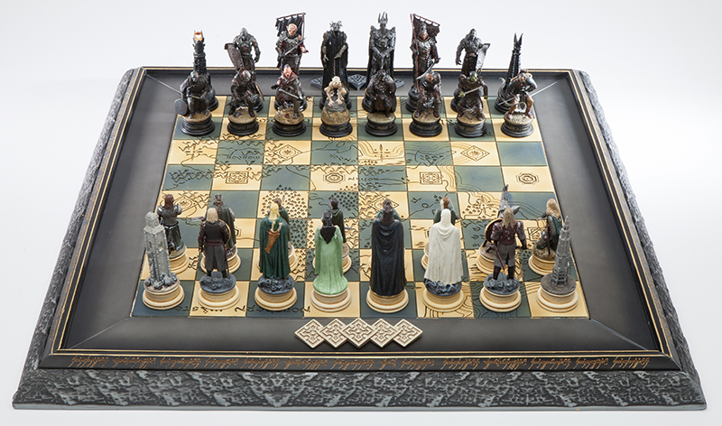 Lord of the Rings Chess Set, 2012