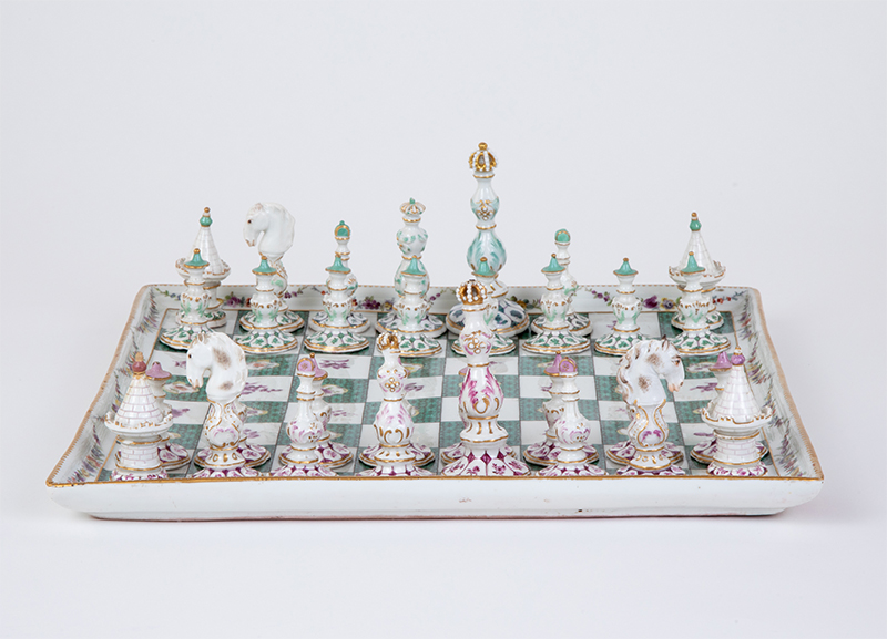 Meissen Chess Set, 1748