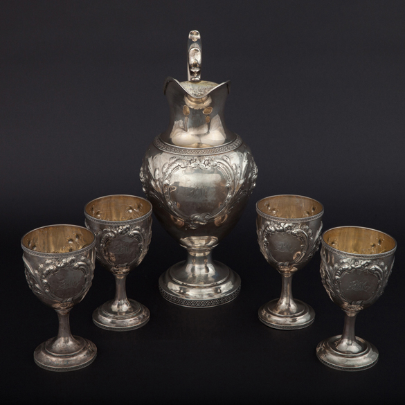 Paul Morphy Silver Service Set